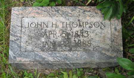 THOMPSON, JOHN H. - Dodge County, Nebraska | JOHN H. THOMPSON - Nebraska Gravestone Photos