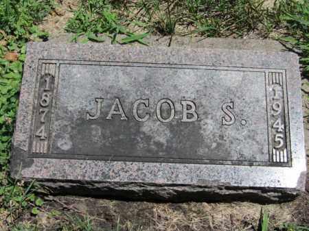 THOMPSON, JACOB S. - Dodge County, Nebraska   JACOB S. THOMPSON - Nebraska Gravestone Photos