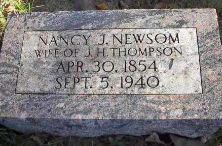THOMPSON, NANCY JANE - Dodge County, Nebraska | NANCY JANE THOMPSON - Nebraska Gravestone Photos