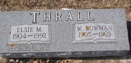 THRALL, WILLIAM BOWMAN - Dodge County, Nebraska | WILLIAM BOWMAN THRALL - Nebraska Gravestone Photos