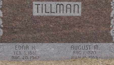 HARTUNG TILLMAN, EDNA - Dodge County, Nebraska | EDNA HARTUNG TILLMAN - Nebraska Gravestone Photos