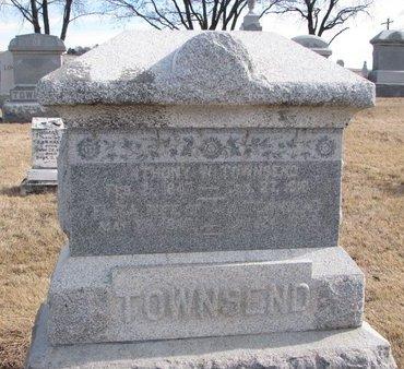 TOWNSEND, ELIZA T. - Dodge County, Nebraska | ELIZA T. TOWNSEND - Nebraska Gravestone Photos