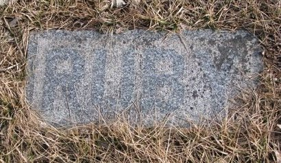 TOWNSEND, RUBY (FOOTSTONE) - Dodge County, Nebraska | RUBY (FOOTSTONE) TOWNSEND - Nebraska Gravestone Photos