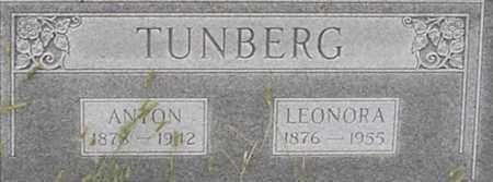 STROH TUNBERG, LEONORA - Dodge County, Nebraska | LEONORA STROH TUNBERG - Nebraska Gravestone Photos