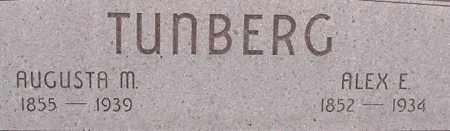 KLINGBEIL TUNBERG, AUGUSTA - Dodge County, Nebraska | AUGUSTA KLINGBEIL TUNBERG - Nebraska Gravestone Photos