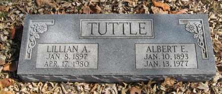 TUTTLE, ALBERT E. - Dodge County, Nebraska | ALBERT E. TUTTLE - Nebraska Gravestone Photos