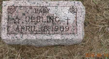 UEHLING, BABY - Dodge County, Nebraska   BABY UEHLING - Nebraska Gravestone Photos