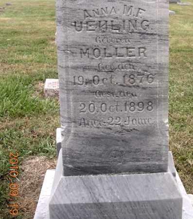 UEHLING, ANNA M. F. - Dodge County, Nebraska   ANNA M. F. UEHLING - Nebraska Gravestone Photos