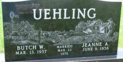 UEHLING, JEANNE A. - Dodge County, Nebraska | JEANNE A. UEHLING - Nebraska Gravestone Photos