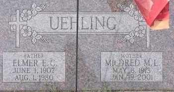 UEHLING, ELMER E. C. - Dodge County, Nebraska | ELMER E. C. UEHLING - Nebraska Gravestone Photos