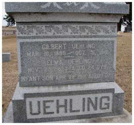 UEHLING, ELMA - Dodge County, Nebraska | ELMA UEHLING - Nebraska Gravestone Photos