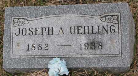 UEHLING, JOSEPH A. - Dodge County, Nebraska   JOSEPH A. UEHLING - Nebraska Gravestone Photos