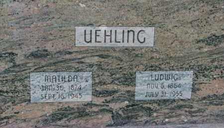 UEHLING, LUDWIG - Dodge County, Nebraska | LUDWIG UEHLING - Nebraska Gravestone Photos
