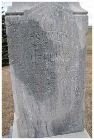 UEHLING, OSWALD - Dodge County, Nebraska   OSWALD UEHLING - Nebraska Gravestone Photos