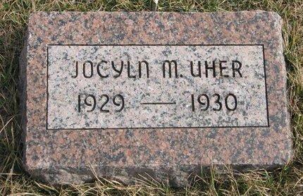 UHER, JOCLYN M. - Dodge County, Nebraska | JOCLYN M. UHER - Nebraska Gravestone Photos