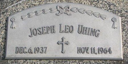 UHING, JOSEPH L. - Dodge County, Nebraska   JOSEPH L. UHING - Nebraska Gravestone Photos