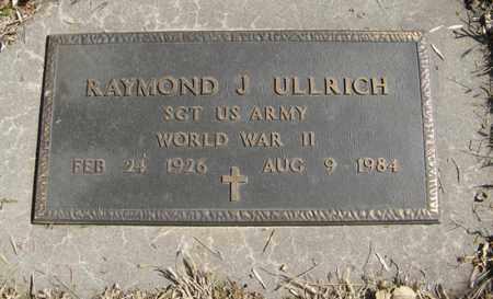 ULLRICH, RAYMOND J. (MILITARY MARKER) - Dodge County, Nebraska | RAYMOND J. (MILITARY MARKER) ULLRICH - Nebraska Gravestone Photos
