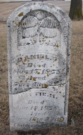 UNKNOWN, DANIEL G. - Dodge County, Nebraska | DANIEL G. UNKNOWN - Nebraska Gravestone Photos