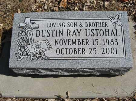 USTOHAL, DUSTIN RAY - Dodge County, Nebraska | DUSTIN RAY USTOHAL - Nebraska Gravestone Photos
