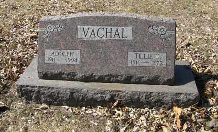 VACHAL, TILLIE C. - Dodge County, Nebraska   TILLIE C. VACHAL - Nebraska Gravestone Photos