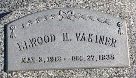 VAKINER, ELWOOD H. #2 - Dodge County, Nebraska | ELWOOD H. #2 VAKINER - Nebraska Gravestone Photos