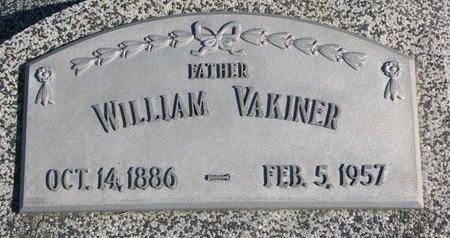 VAKINER, WILLIAM - Dodge County, Nebraska | WILLIAM VAKINER - Nebraska Gravestone Photos