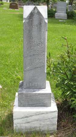 VEHRS, ROSA E. - Dodge County, Nebraska | ROSA E. VEHRS - Nebraska Gravestone Photos