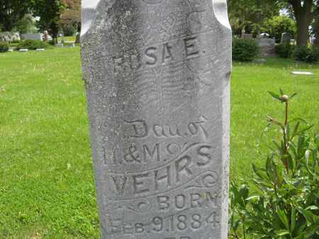 VEHRS, ROSA E. (CLOSE UP ONE) - Dodge County, Nebraska   ROSA E. (CLOSE UP ONE) VEHRS - Nebraska Gravestone Photos