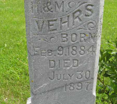 VEHRS, ROSA E. (CLOSE UP TWO) - Dodge County, Nebraska | ROSA E. (CLOSE UP TWO) VEHRS - Nebraska Gravestone Photos