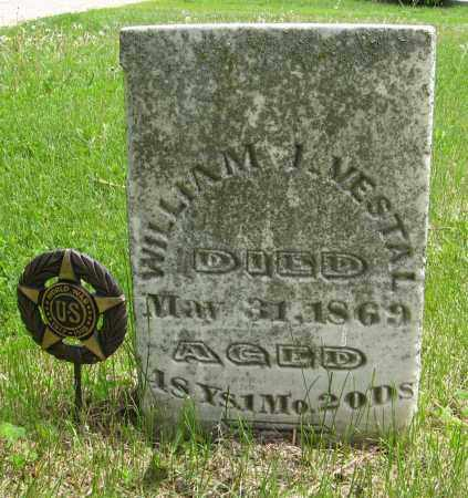 VESTAL, WILLIAM I. - Dodge County, Nebraska   WILLIAM I. VESTAL - Nebraska Gravestone Photos