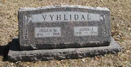 VYHLIDAL, JOHN J. - Dodge County, Nebraska | JOHN J. VYHLIDAL - Nebraska Gravestone Photos