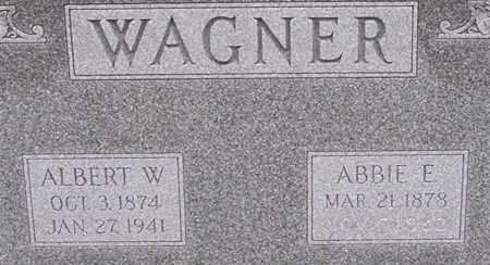 WAGNER, ABBIE - Dodge County, Nebraska | ABBIE WAGNER - Nebraska Gravestone Photos