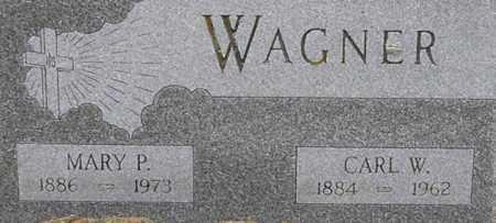 HILKER WAGNER, MARY - Dodge County, Nebraska | MARY HILKER WAGNER - Nebraska Gravestone Photos