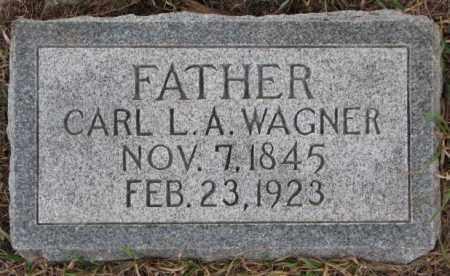 WAGNER, CARL L.A. - Dodge County, Nebraska | CARL L.A. WAGNER - Nebraska Gravestone Photos