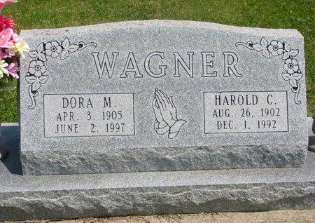 WAGNER, HAROLD C. - Dodge County, Nebraska | HAROLD C. WAGNER - Nebraska Gravestone Photos