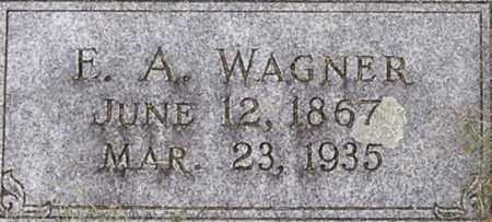 WAGNER, EDMUND - Dodge County, Nebraska | EDMUND WAGNER - Nebraska Gravestone Photos