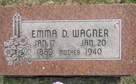 WAGNER, EMMA - Dodge County, Nebraska | EMMA WAGNER - Nebraska Gravestone Photos