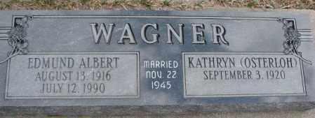 WAGNER, KATHRYN - Dodge County, Nebraska | KATHRYN WAGNER - Nebraska Gravestone Photos