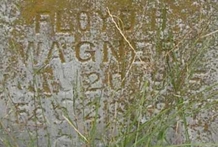 WAGNER, FLOYD - Dodge County, Nebraska   FLOYD WAGNER - Nebraska Gravestone Photos