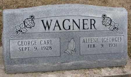 WAGNER, GEORGE CARL - Dodge County, Nebraska | GEORGE CARL WAGNER - Nebraska Gravestone Photos