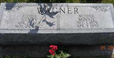 WAGNER, MINNIE - Dodge County, Nebraska | MINNIE WAGNER - Nebraska Gravestone Photos