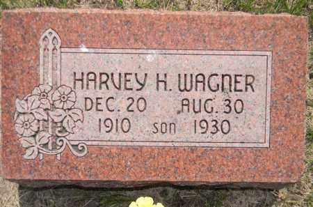 WAGNER, HARVEY - Dodge County, Nebraska | HARVEY WAGNER - Nebraska Gravestone Photos