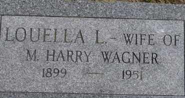 WAGNER, LOUELLA L. - Dodge County, Nebraska | LOUELLA L. WAGNER - Nebraska Gravestone Photos