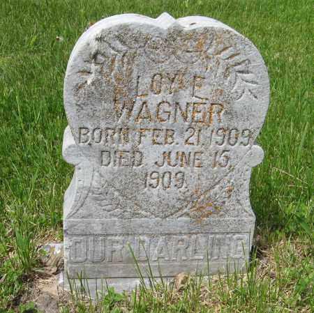 WAGNER, LOY E. - Dodge County, Nebraska | LOY E. WAGNER - Nebraska Gravestone Photos