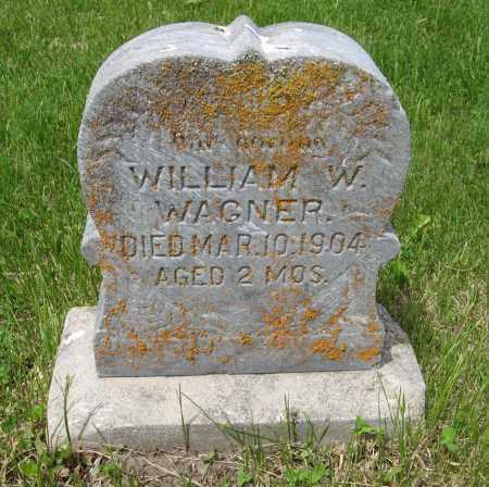 WAGNER, WILLIAM W. - Dodge County, Nebraska | WILLIAM W. WAGNER - Nebraska Gravestone Photos