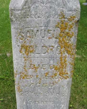 WALDRON, SAMUEL (CLOSE UP) - Dodge County, Nebraska | SAMUEL (CLOSE UP) WALDRON - Nebraska Gravestone Photos
