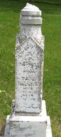 WALDRON, SARAH A. - Dodge County, Nebraska | SARAH A. WALDRON - Nebraska Gravestone Photos