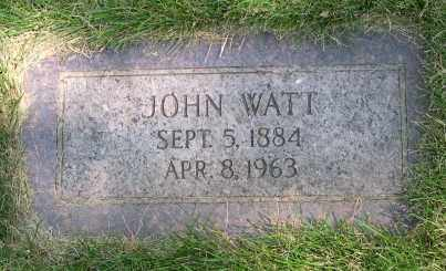 WATT, JOHN - Dodge County, Nebraska   JOHN WATT - Nebraska Gravestone Photos