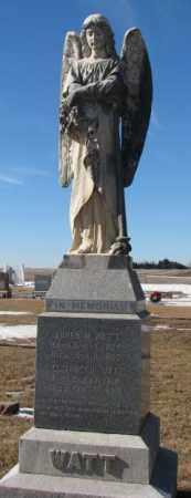 WATT, ELIZABETH - Dodge County, Nebraska | ELIZABETH WATT - Nebraska Gravestone Photos