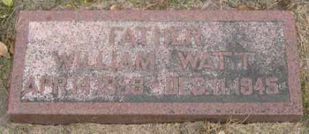 WATT, WILLIAM - Dodge County, Nebraska | WILLIAM WATT - Nebraska Gravestone Photos